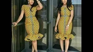robe courte africaine de soiree youtube With robe de soirée chic courte