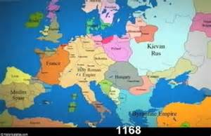 show me a map of europe