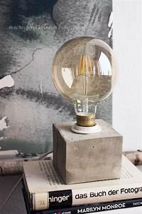 Lampe Industrie Look : diy beton lampe fotografie tipps und foto hacks ~ Markanthonyermac.com Haus und Dekorationen