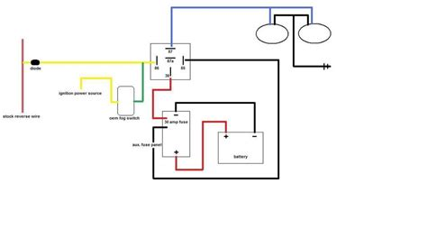 Auxilary Light Wiring Diagram Vehicle by Help Wiring Auxiliary Lights Tacoma World