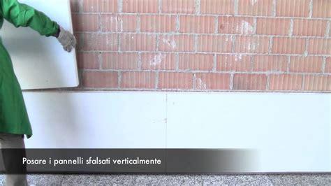 COATBOND INDEX SpA Come incollare e rasare i pannelli