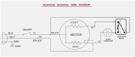 Fan Motor Capacitor Wiring Diagram on