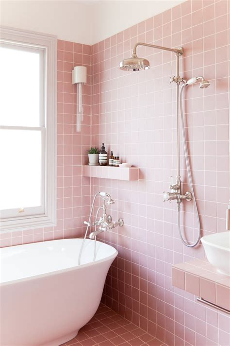lg studio  dream pink bathroom design revealed