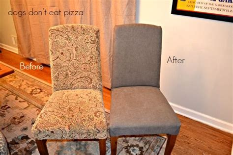 17 best ideas about recover dining chairs on