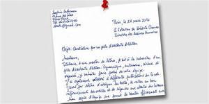 Lettre De Motivation écrite Ou Ordi : la lettre de motivation est elle encore utile l 39 etudiant ~ Medecine-chirurgie-esthetiques.com Avis de Voitures