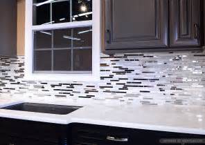black glass tiles for kitchen backsplashes 5 modern white marble glass metal kitchen backsplash tile