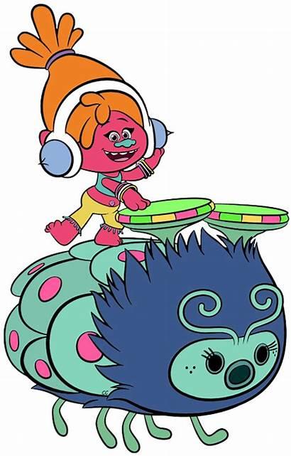 Trolls Dj Suki Clipart Troll Clip Cartoon