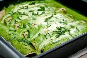 Chicken Enchiladas Verdes Recipe — Dishmaps