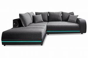 Sofa Mit Led Und Soundsystem : polsterecke trentino mit led und sound stoff sofa couch ecksofa ebay ~ Indierocktalk.com Haus und Dekorationen