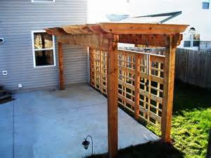 Pergola with Privacy Fence Ideas