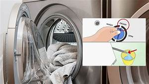 How To Drain Water From A Samsung Washing Machine Manually