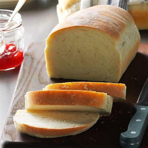easy bread recipe basic homemade bread recipe taste of home