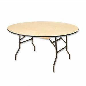 Table Ronde 8 Personnes : table ronde 8 personnes elle est en bois et ses pieds se replient ~ Teatrodelosmanantiales.com Idées de Décoration
