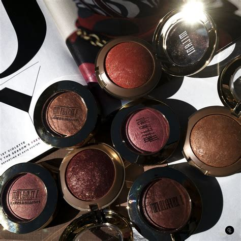 baked blush milani cosmetics cocoa swatches