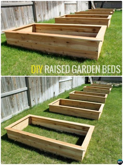 diy raised garden bed ideas instructions  plans