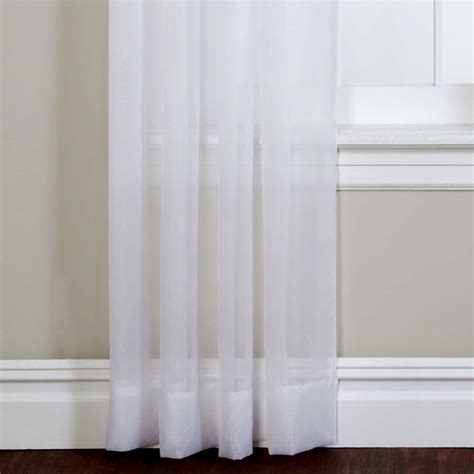 Emelia Sheer Voile Curtains emelia sheer voile grommet window treatment