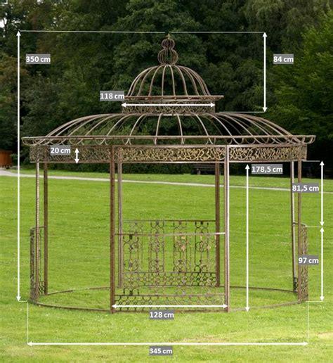 metall pavillon rund luxus pavillon romantik rund metall pavillion garten laube