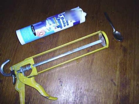 tutoriel 5 les joints en silicone dans la salle de bains le bleu de travail de titane