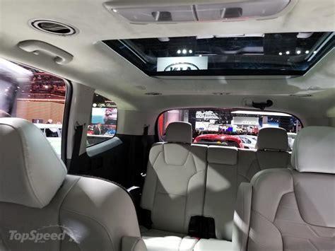 2020 Kia Telluride Ex Interior by 2020 Kia Telluride Top Speed