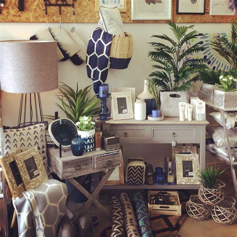 home decor gifts navy and grey visual merchandising shop display november