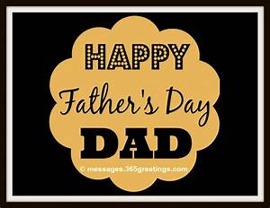 Happy Fathers Day Messages, Greetings and Fathers Day ...