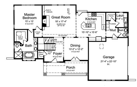 mudroom floor plans large mud room with cubbies hwbdo75280 craftsman house plan from builderhouseplans com