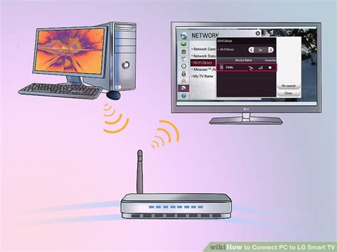 connect phone to lg smart tv how to connect pc to lg smart tv with pictures wikihow