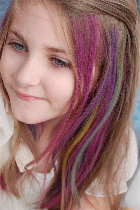 Temporary Color Hair Dye For Kids Hair Pinterest