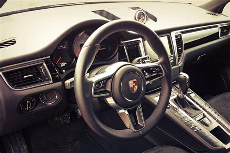 porsche macan red interior quiet cars 2014 autos post