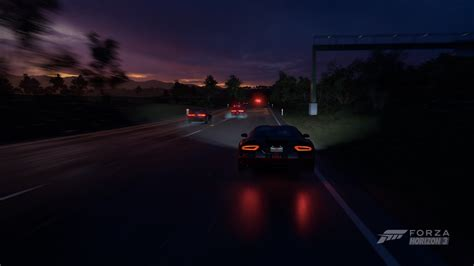 Forza Horizon 3, Car, Supercars, Sports Car, Night, Srt