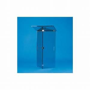 tabouret plexi transparent douche des idees novatrices With porte de douche coulissante avec accessoire salle de bain transparent