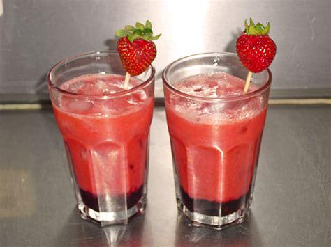 erdbeer cocktail fanca chefkoch de