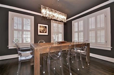 ghost chairs with wood table ghost chairs with wooden table home decor pinterest