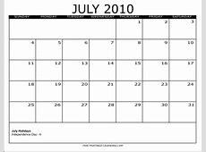 2010 Free Printable Calendars Free Printable Calendars