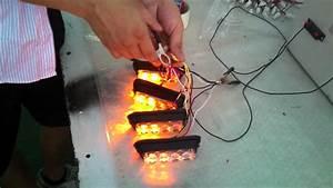 A4 Led Strobe Light 4lightheads Sync Video Mp4