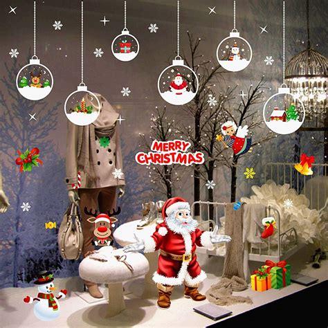 merry christmas happy  year santa murals reindeer