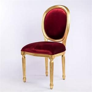 Chaise Medaillon But : chaise m daillon rouge 126 events destockage grossiste ~ Teatrodelosmanantiales.com Idées de Décoration