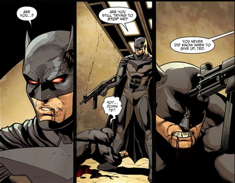 Wildcat Vs Fake Batman (injustice Ii) Comicnewbies