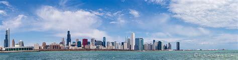 Panorama Bilder - Chicago Skyline, Illinois, USA