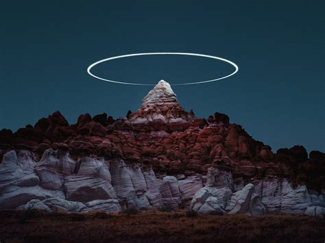Photographer Captures Stunning Landscapes Lit By Drones