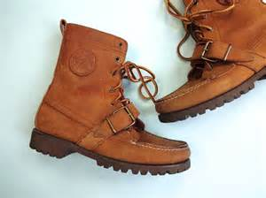 ralph womens boots sale vintage ralph boots 1990s shoes brown leather lace