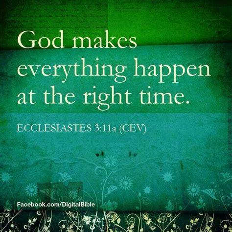 god   happen    time