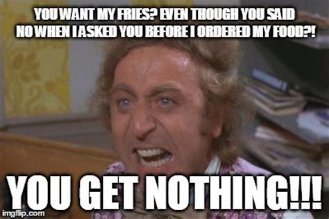 Willy Wonka Meme Generator - angry willy wonka imgflip