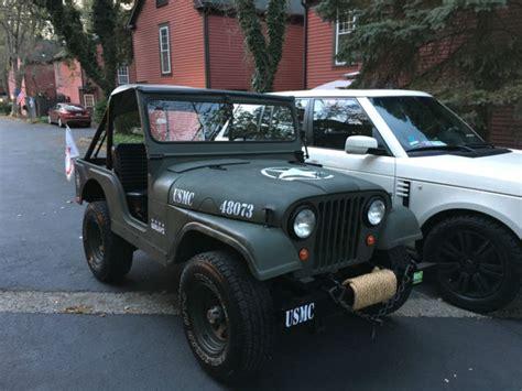 dark green jeep cj 1962 willys jeep cj5 military green recently restored