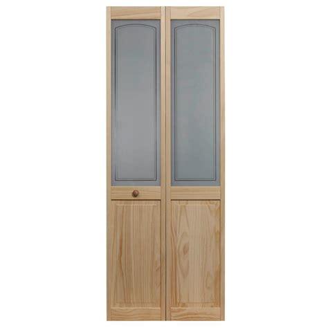 home depot glass interior doors pinecroft 32 in x 80 in mezzo glass raised panel