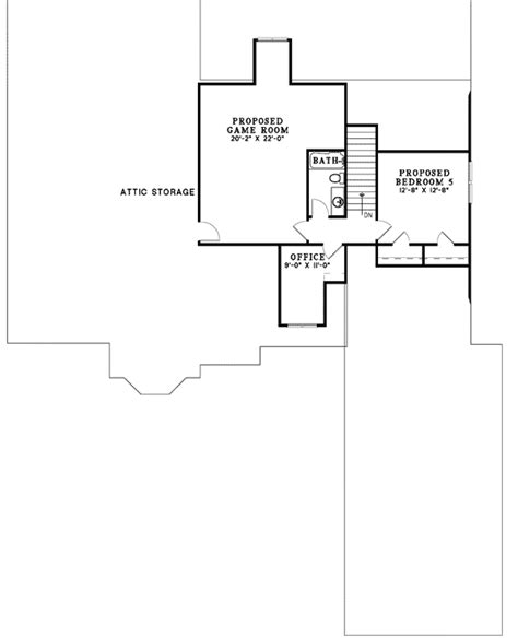 5 bedroom house plans with bonus room 3 4 or 5 bedroom house plan 59567nd traditional 1st