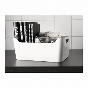 Ikea Box Weiß : variera box white 34x24 cm ikea ~ Sanjose-hotels-ca.com Haus und Dekorationen