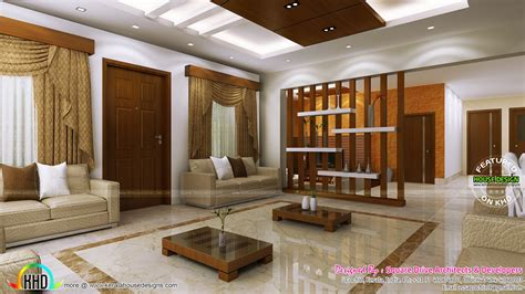 Stunning home interiors in Cochin - Kerala home design and