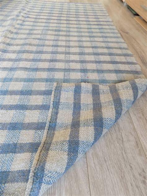 Antik Traditionel Ukrainier Hanf Decke Plaid Rug 1,4x1,6m
