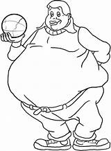 Fat Coloring Pages Albert Boy Holding Ball Drawing Person Kidsplaycolor Netart Bar Boys Cosby Trending Days Last Sketches Again Looking sketch template